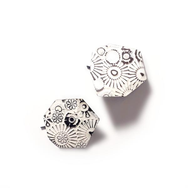 Carla Riccoboni, Tavolette, earrings, Thereza Pedrosa gallery, Asolo