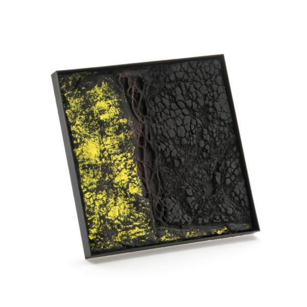 Corrado De Meo, TC Sun Set C2, brooch,Thereza Pedrosa gallery, Asolo