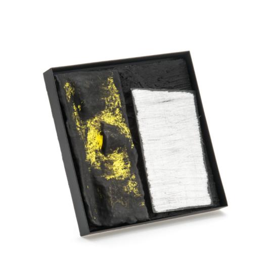 Corrado De Meo, TL Sun Set C5, brooch, Thereza Pedrosa gallery, Asolo