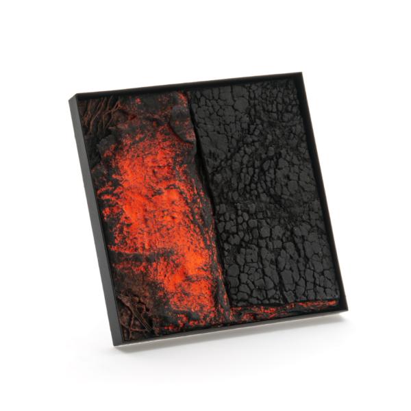 Corrado De Meo, TTL Sun Set C3, brooch, Thereza Pedrosa gallery, Asolo