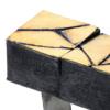 Gigi Mariani, cracks ring 1, Thereza Pedrosa gallery, Asolo