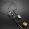Lluis Comin, Barcino 17, necklace, Thereza Pedrosa gallery, Asolo