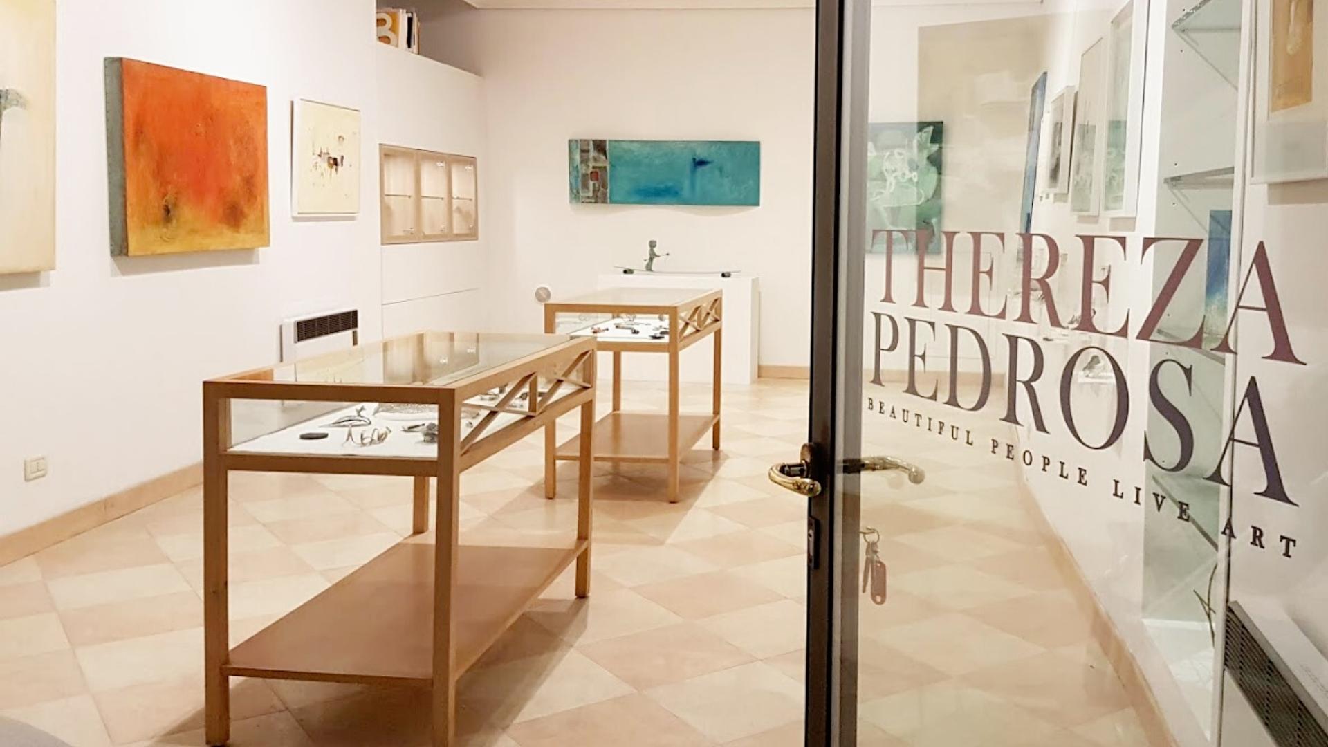 Thereza Pedrosa art gallery, Asolo, Italy