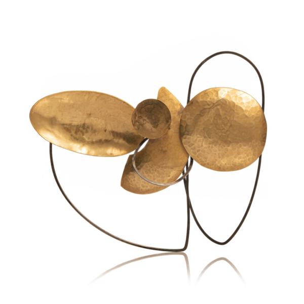 Bruno Pedrosa, brooch, Rinascita collection, LUCE LUZ LIGHT virtual exhibition, Thereza Pedrosa gallery, Asolo