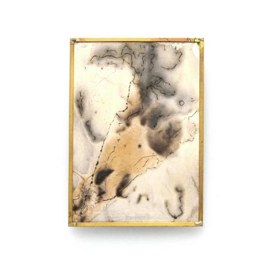 Heidemarie Herb, minipicture Panta rhei, brooch 1, LUCE LUZ LIGHT virtual exhibition, Thereza Pedrosa gallery, Asolo