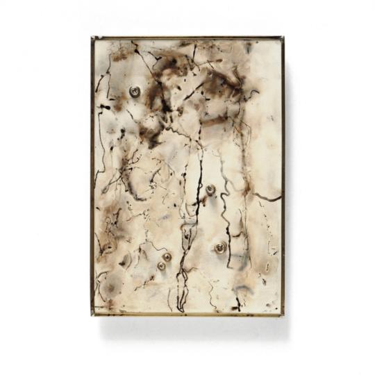 Heidemarie Herb, minipicture Panta rhei, brooch 2, LUCE LUZ LIGHT virtual exhibition, Thereza Pedrosa gallery, Asolo