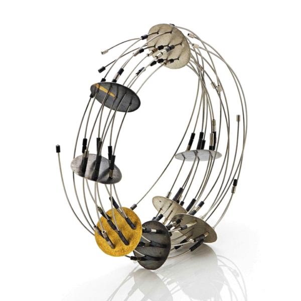 Maria Rosa Franzin, Cerchi, bracelet, Thereza Pedrosa gallery, Asolo