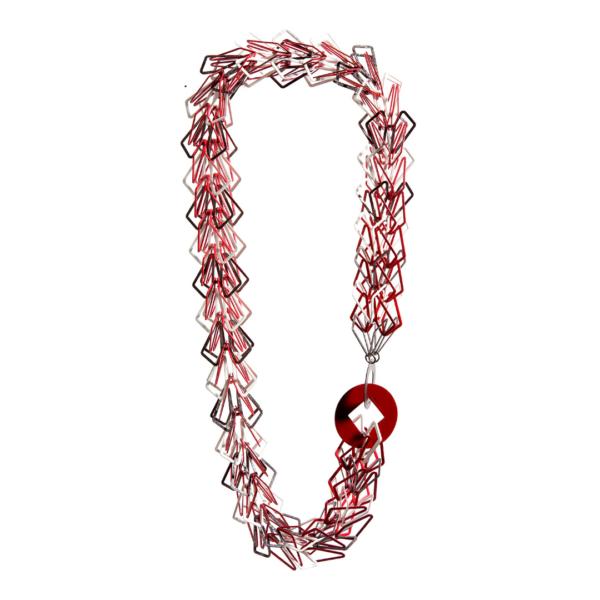 Carla Riccoboni, necklace, Alphabet collection, LUCE LUZ LIGHT virtual exhibition, Thereza Pedrosa gallery, Asolo