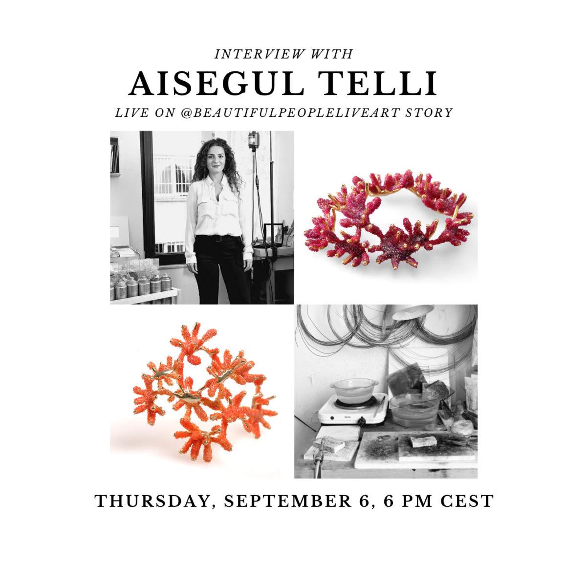 Aişegül Telli – Live Interview on Instagram
